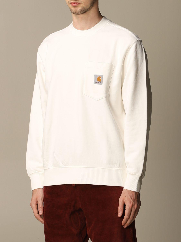 Sweatshirt Carhartt: Sweatshirt herren Carhartt amarant 3