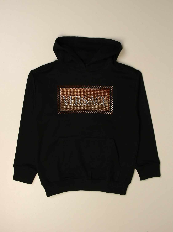 Maglia Young Versace: Felpa Versace Young con logo nero 1