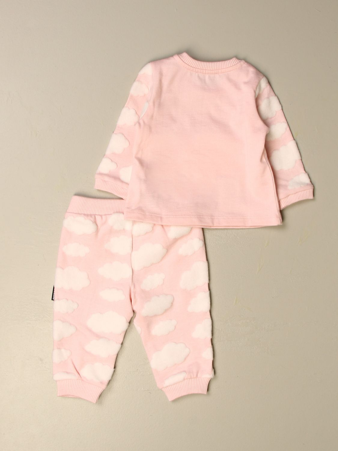 Clothing set Moschino Baby: Sweater + trousers set Moschino Baby pink 2