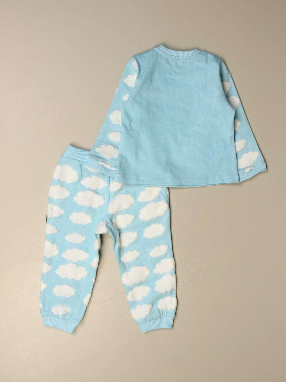套装 Moschino Baby: Moschino Baby 上衣+裤子套装 天蓝色 2