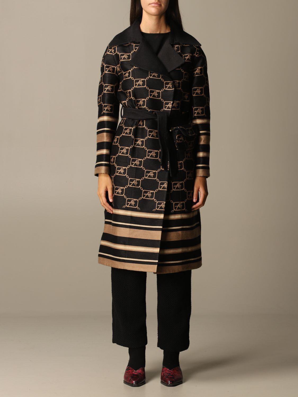 Coat Alberta Ferretti: Cloak women Alberta Ferretti black 1