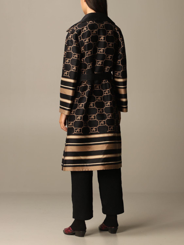 Coat Alberta Ferretti: Cloak women Alberta Ferretti black 3