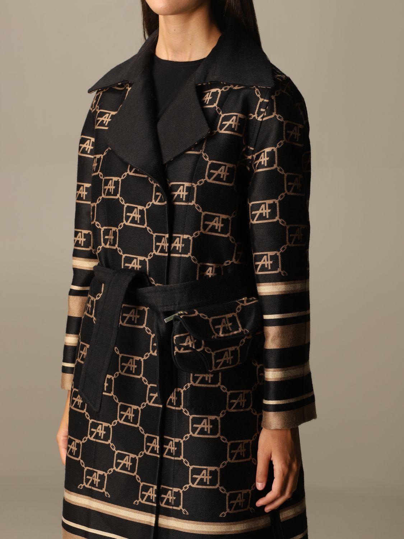 Coat Alberta Ferretti: Cloak women Alberta Ferretti black 5
