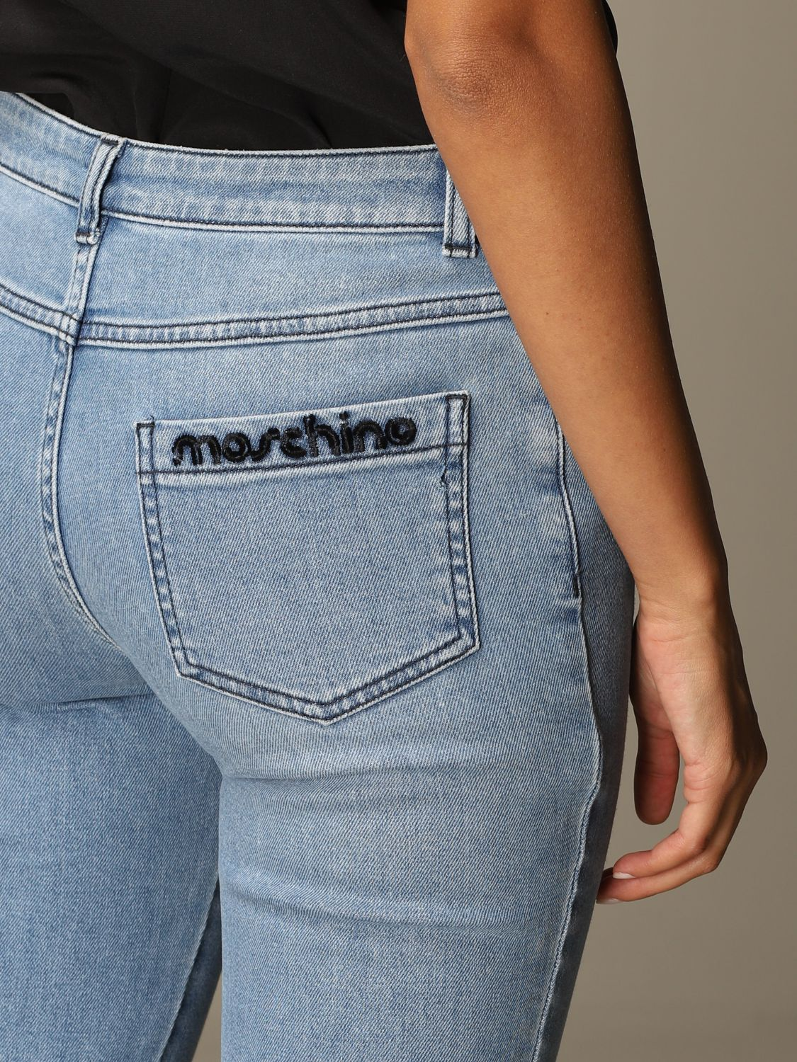 Jeans Moschino Couture: Jeans damen Moschino Couture denim 4