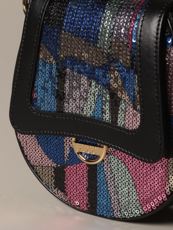 Bag Emilio Pucci: Bag kids Emilio Pucci gnawed blue 3