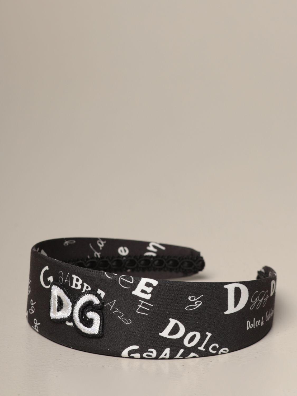 Hairband Dolce & Gabbana: Hairband kids Dolce & Gabbana black 1