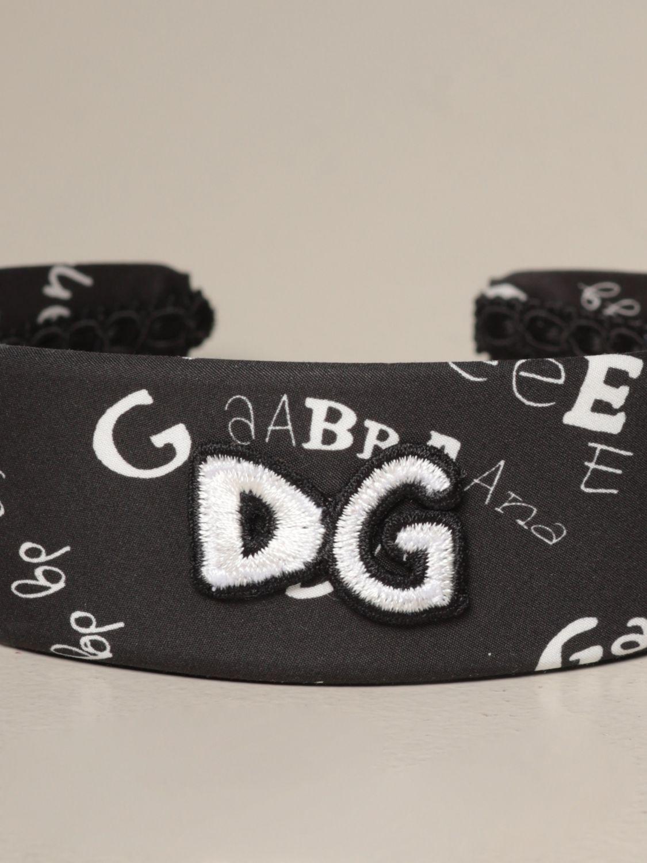 Hairband Dolce & Gabbana: Hairband kids Dolce & Gabbana black 2
