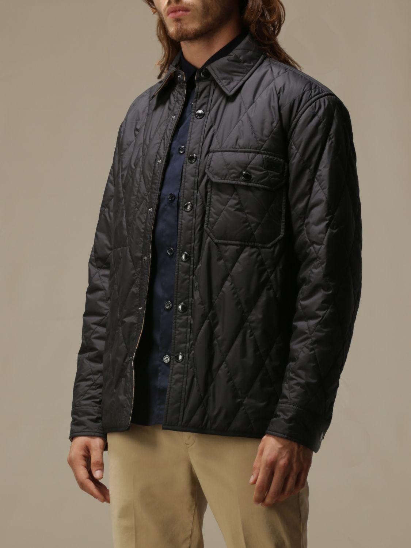Jacket Burberry: Jacket men Burberry black 4