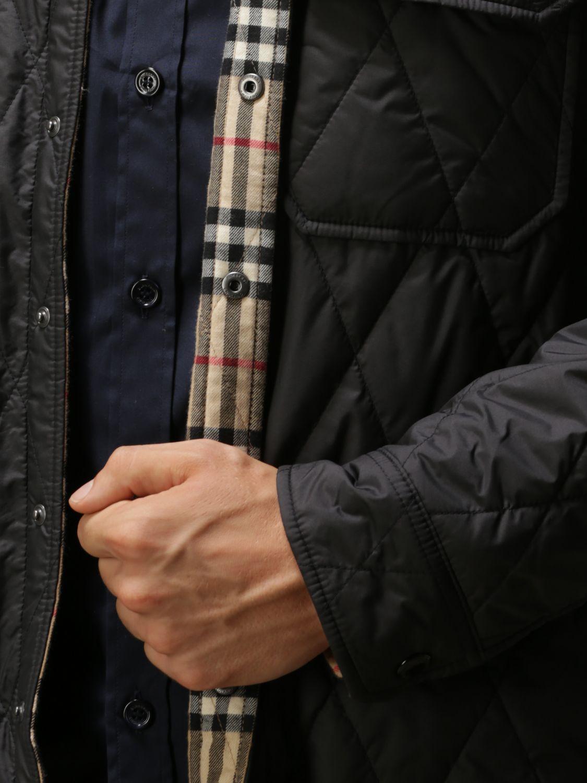 Jacket Burberry: Jacket men Burberry black 5