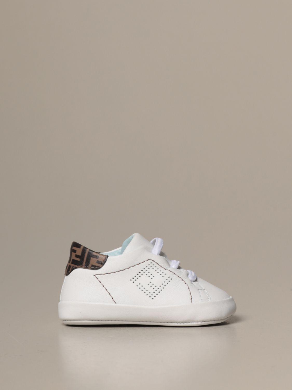 鞋履 Fendi: 鞋履 儿童 Fendi 白色 1