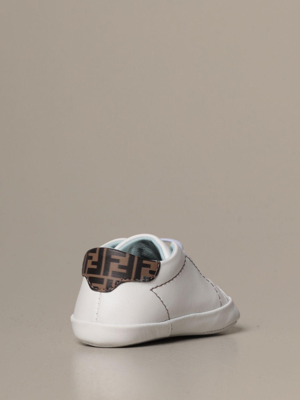 鞋履 Fendi: 鞋履 儿童 Fendi 白色 3
