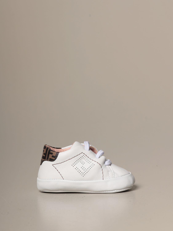 鞋履 Fendi: 鞋履 儿童 Fendi 白色 1 1