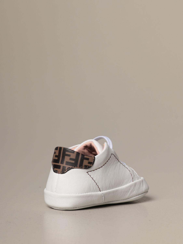 鞋履 Fendi: 鞋履 儿童 Fendi 白色 1 3