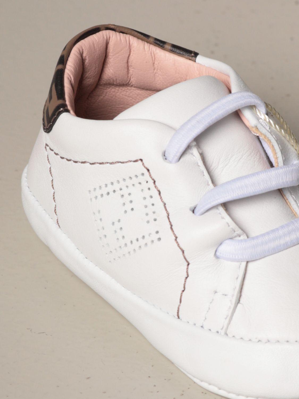 鞋履 Fendi: 鞋履 儿童 Fendi 白色 1 4