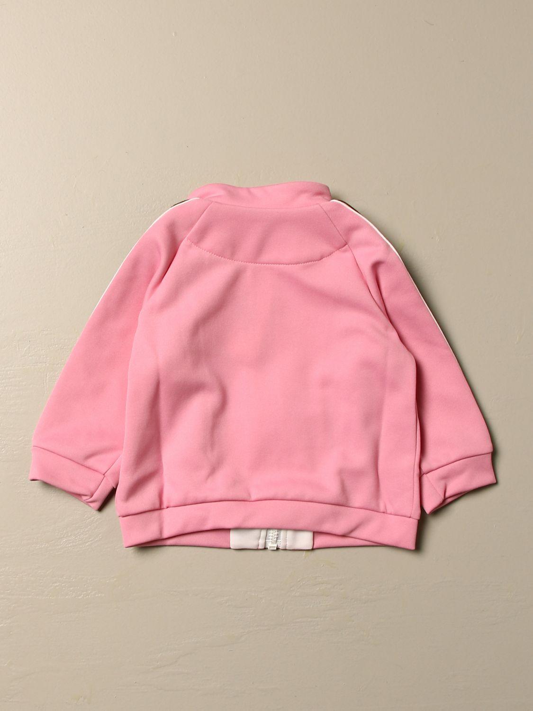 Maglia Fendi: Felpa Fendi con cappuccio e zip rosa 2