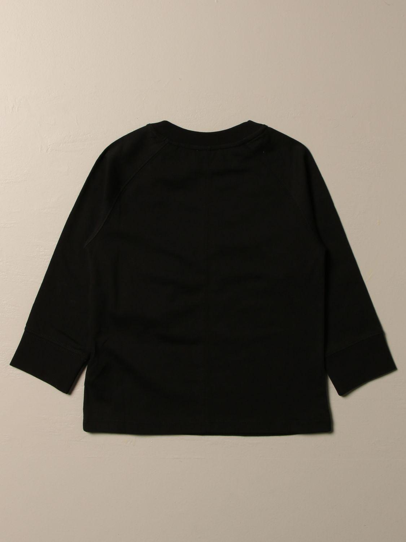 T-shirt Burberry: T-shirt Burberry in cotone con logo nero 2