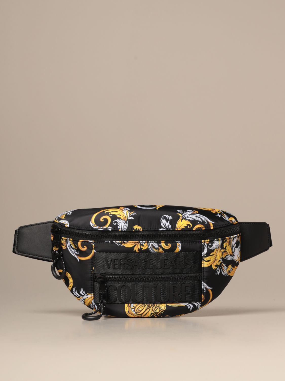 Belt bag Versace Jeans Couture: Belt bag men Versace Jeans Couture black 1