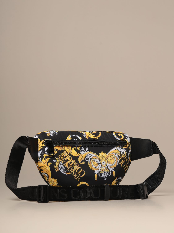 Belt bag Versace Jeans Couture: Belt bag men Versace Jeans Couture black 2