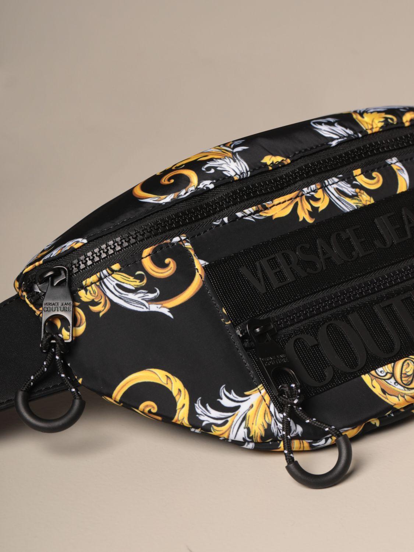 Belt bag Versace Jeans Couture: Belt bag men Versace Jeans Couture black 3