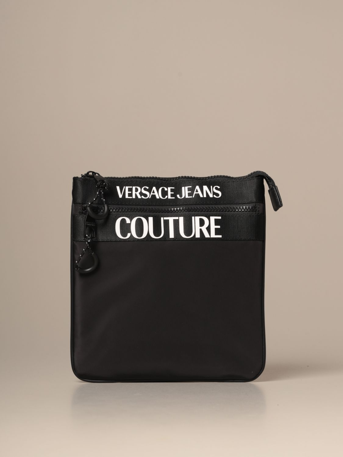 Shoulder bag Versace Jeans Couture: Bags men Versace Jeans Couture black 1