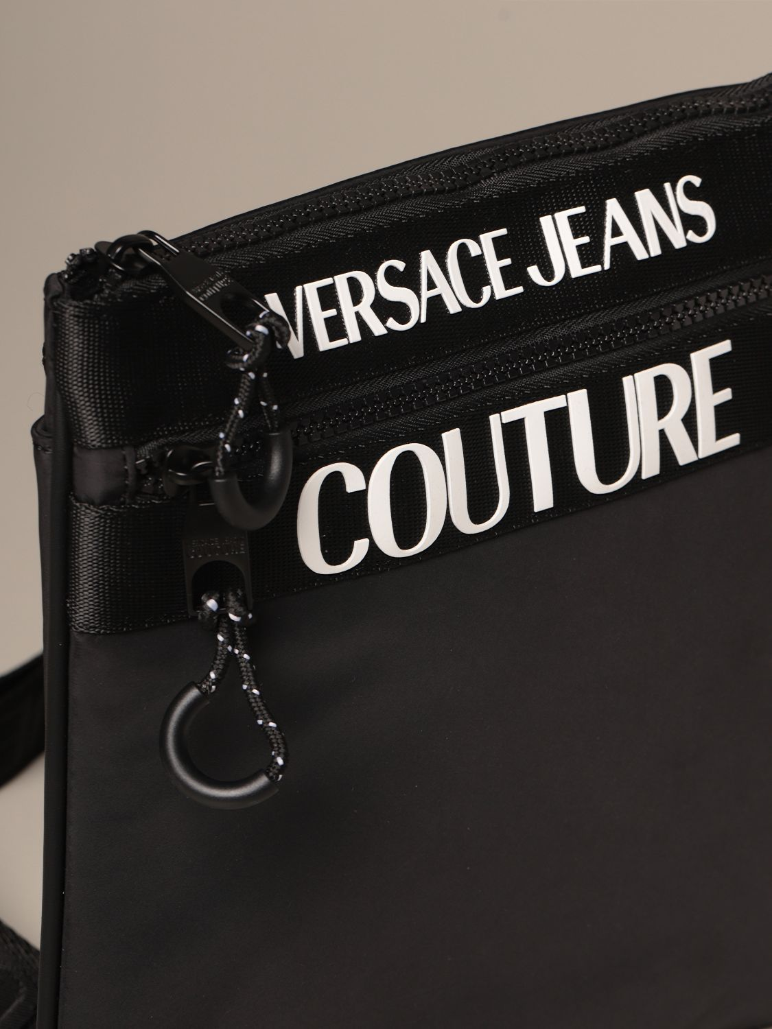Shoulder bag Versace Jeans Couture: Bags men Versace Jeans Couture black 3