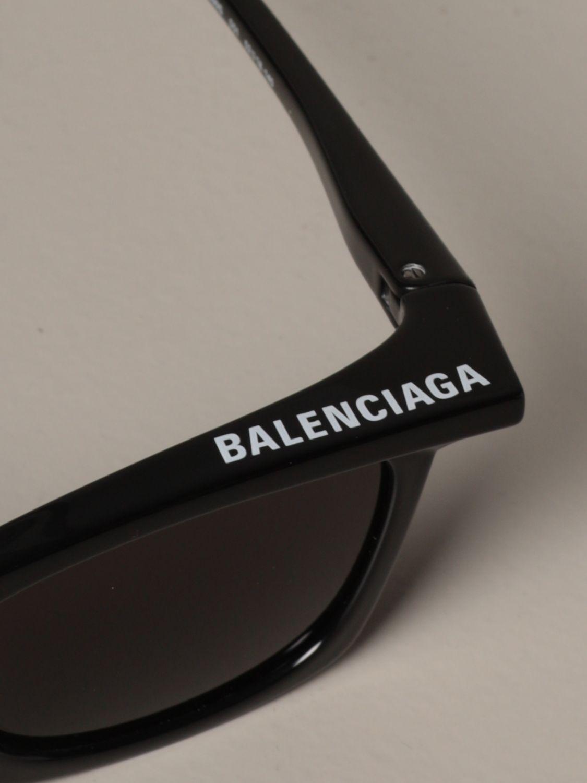 Occhiali Balenciaga: Occhiali da sole Balenciaga in acetato nero 3