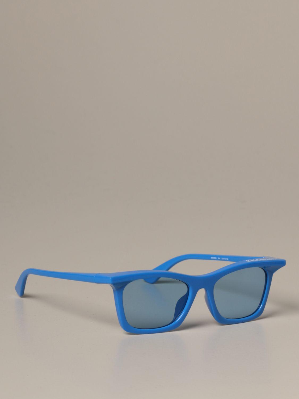 Солнцезащитные очки Balenciaga: Солнцезащитные очки Мужское Balenciaga голубой 1