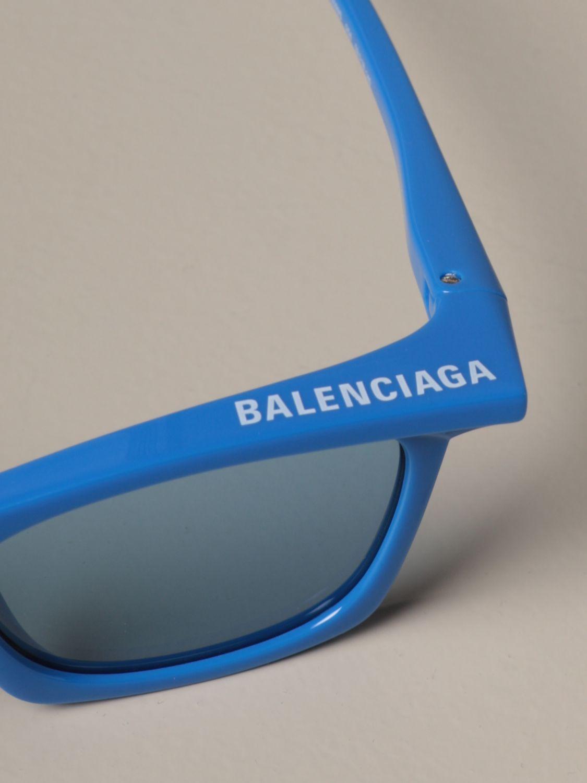 Солнцезащитные очки Balenciaga: Солнцезащитные очки Мужское Balenciaga голубой 3