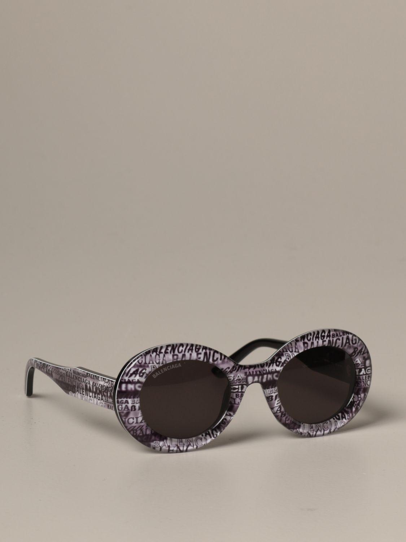 Солнцезащитные очки Balenciaga: Солнцезащитные очки Женское Balenciaga серый 1