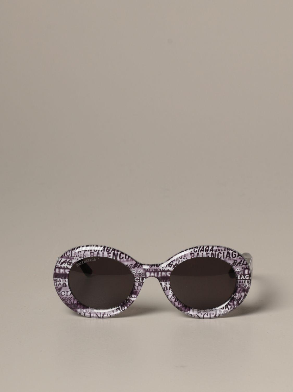 Солнцезащитные очки Balenciaga: Солнцезащитные очки Женское Balenciaga серый 2
