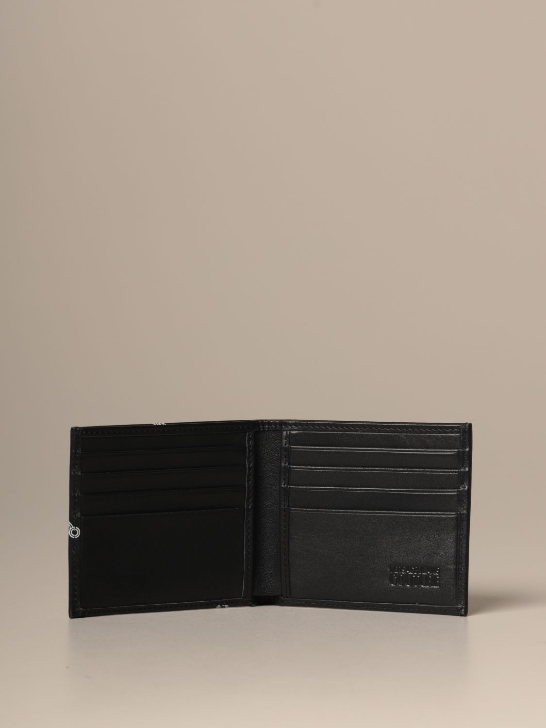 Wallet Versace Jeans Couture: Versace Jeans Couture synthetic leather wallet black 2