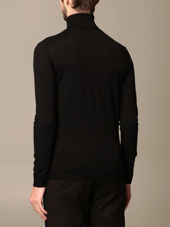 Sweater Alessandro Dell'acqua: Alessandro Dell'acqua turtleneck in wool blend blue 2
