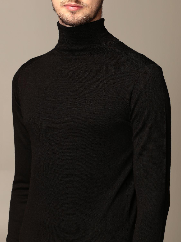 Sweater Alessandro Dell'acqua: Alessandro Dell'acqua turtleneck in wool blend blue 3