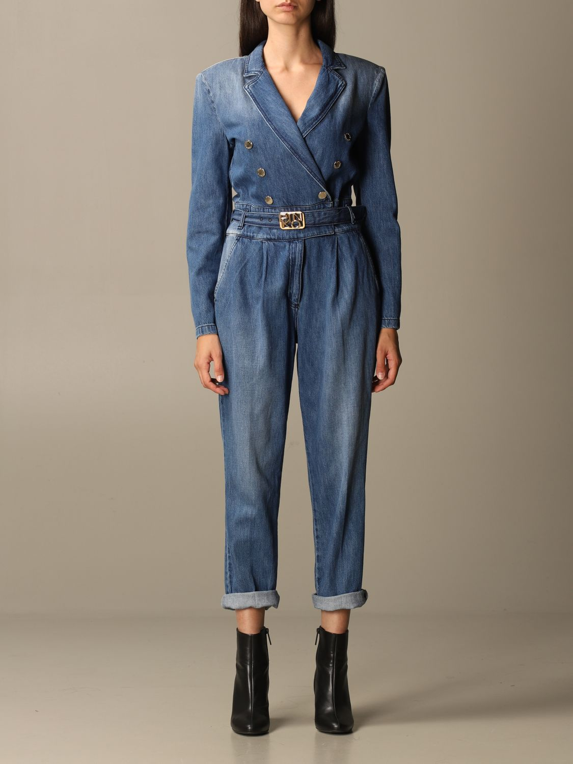 Jumpsuit Pinko: Jumpsuit damen Pinko denim 1