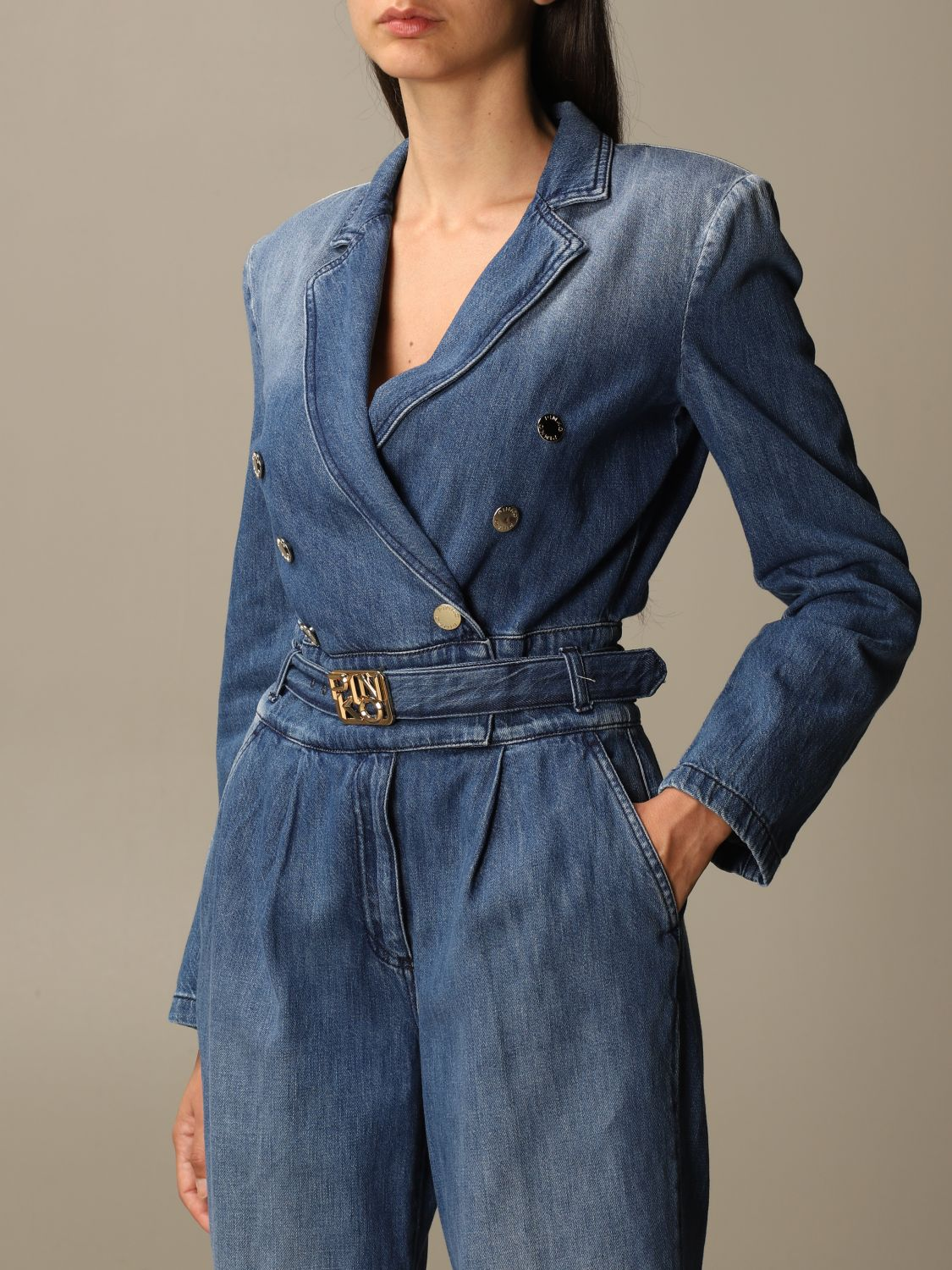 Jumpsuit Pinko: Jumpsuit damen Pinko denim 3