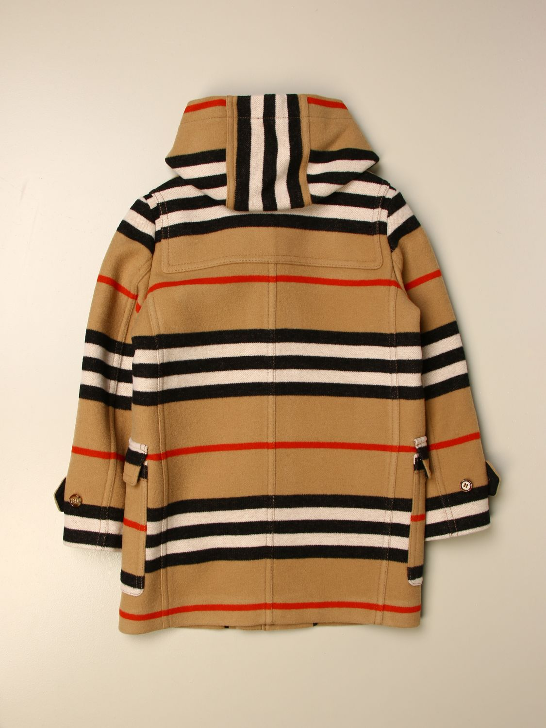 Coat Burberry: Blazer kids Burberry beige 2