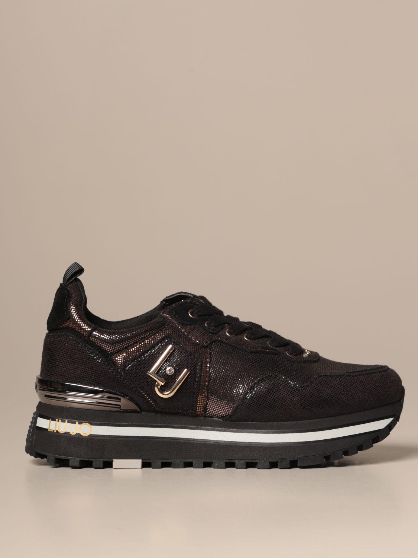 Criticar Minúsculo Picante  Zapatos mujer Liu Jo | Zapatillas Liu Jo Mujer Negro | Zapatillas Liu Jo  BF0069EX014 Giglio ES