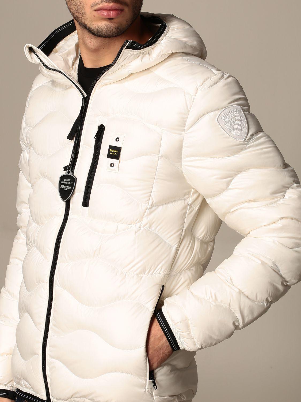Giacca Blauer: Piumino Blauer con cappuccio bianco 3
