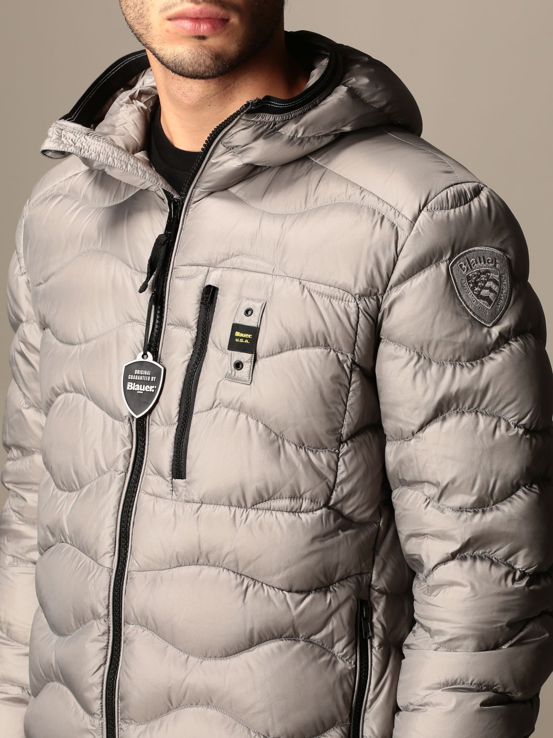 Jacket Blauer: Jacket women Blauer grey 3
