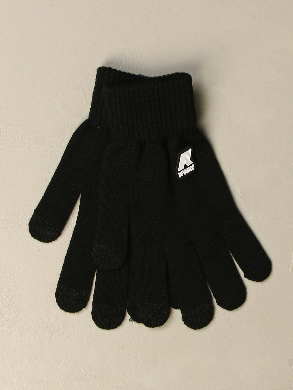 Gloves K-Way: Gloves men K-way black 1