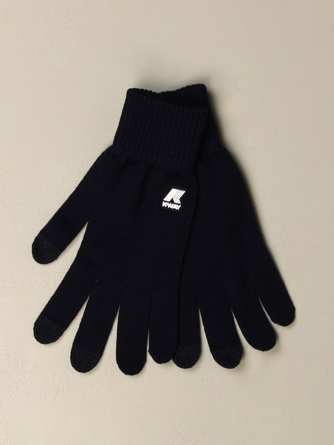 Gloves K-Way: Gloves men K-way blue 1