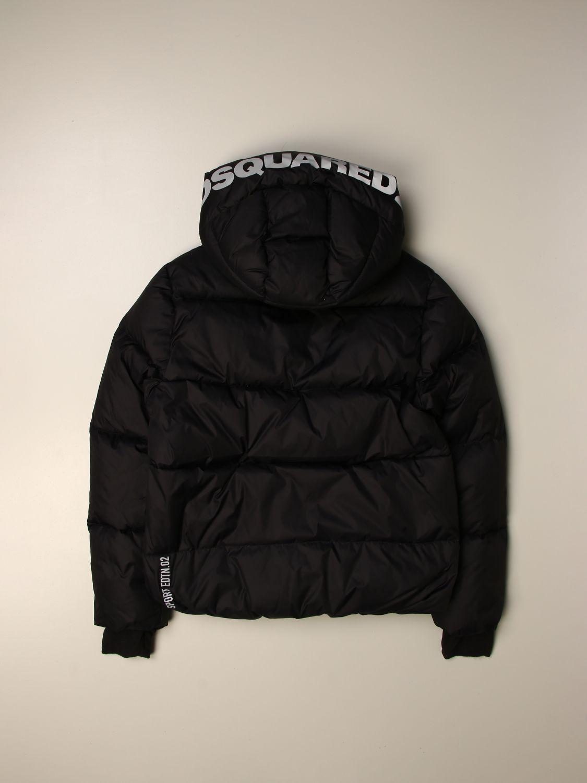Jacket Dsquared2 Junior: Jacket kids Dsquared2 Junior black 2