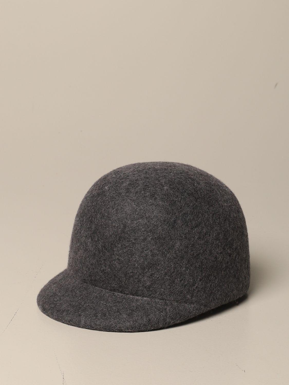 Cappello bimba Douuod: Cappello Douuod in pura lana grigio 1