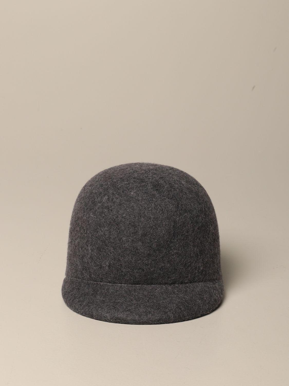 Cappello bimba Douuod: Cappello Douuod in pura lana grigio 2