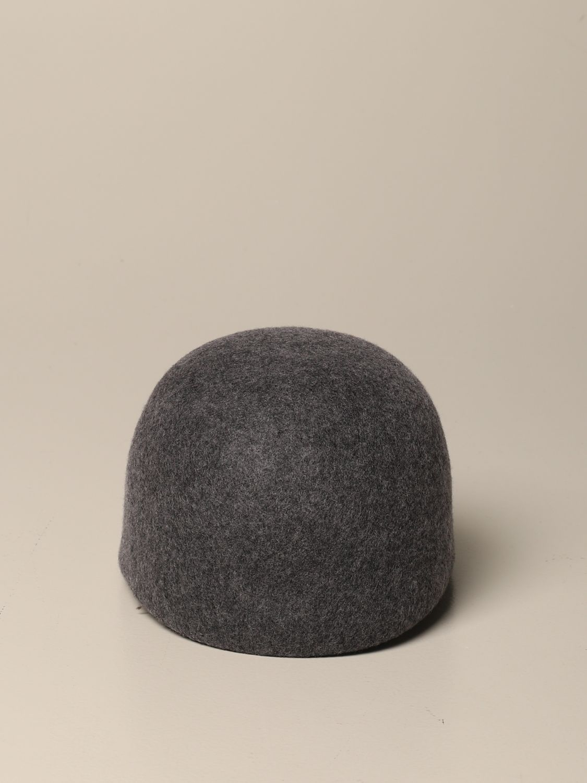 Cappello bimba Douuod: Cappello Douuod in pura lana grigio 3