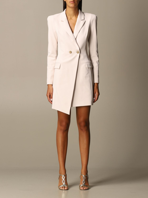 Dress Elisabetta Franchi: Dress women Elisabetta Franchi blush pink 1