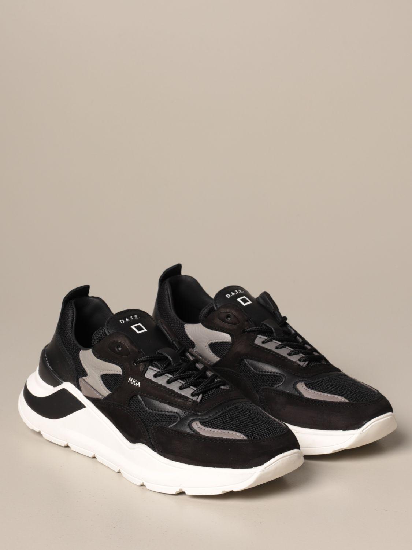 Sneakers D.a.t.e.: Shoes men D.a.t.e. black 2
