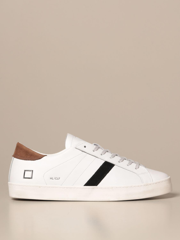 Sneakers D.a.t.e.: Shoes men D.a.t.e. white 1