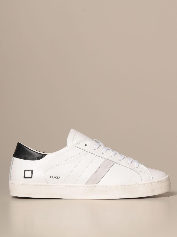 Sneakers D.a.t.e.: Schuhe herren D.a.t.e. weiss 1 1