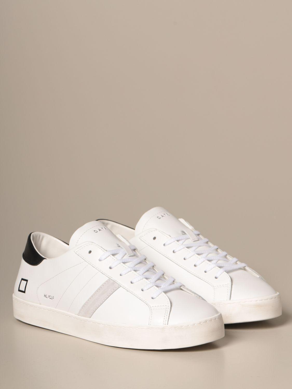 Sneakers D.a.t.e.: Schuhe herren D.a.t.e. weiss 1 2